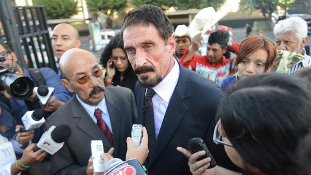 Guatemala Scheduled to Deport McAfee Back to Belize (ABC News)