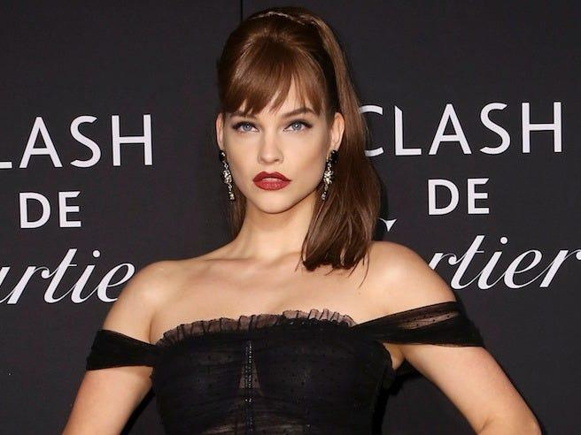 Barbara Palvin and Dylan Sprouse seem to be comfortable sharing things about their relationship.