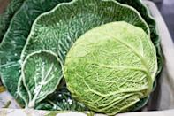 """<p>""""I have always adored setting an Easter table with cabbage-ware salad plates and serving dishes, mixed with solid white dinner plates and a burlap or natural linen tablecloth. It reflects the fresh, clean feeling of spring and lets the food be the real star."""" <em>—<a href=""""http://www.elementsofstyleblog.com/about/meet-erin"""" rel=""""nofollow noopener"""" target=""""_blank"""" data-ylk=""""slk:Erin Gates"""" class=""""link rapid-noclick-resp"""">Erin Gates</a>, Interior Designer</em></p>"""