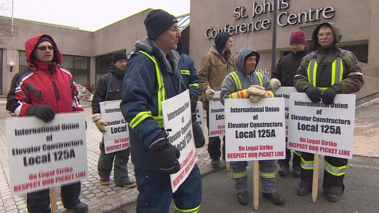 Former cabinet minister says family harassed by striking elevator workers