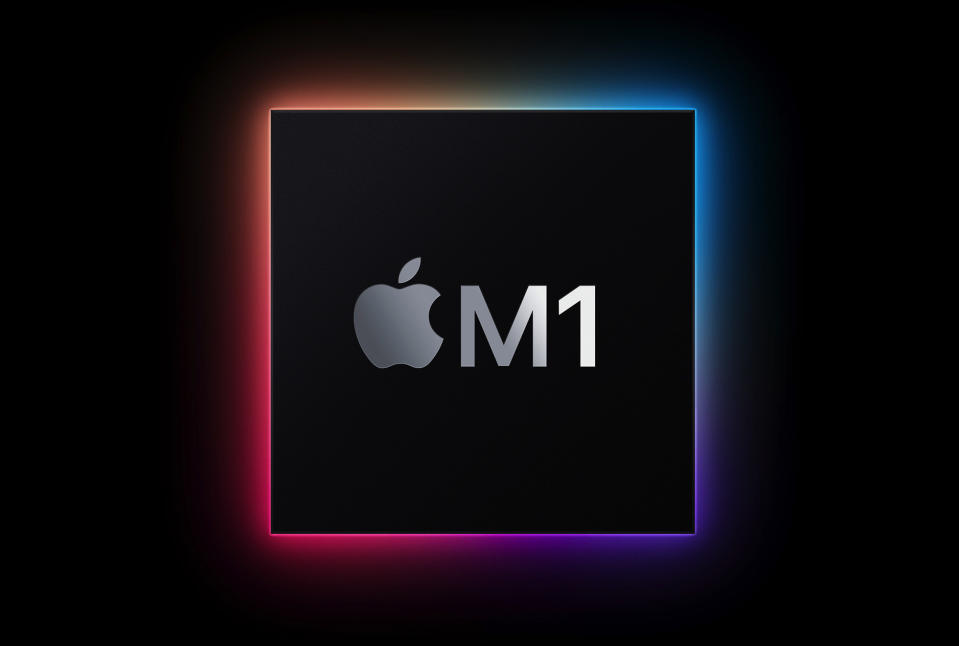 All of Apple's new products running the M1 chip.