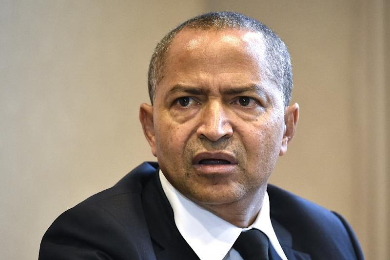 Katumbi, 54, a wealthy businessman of mixed Greek and Congolese origin, served as the elected governor of Katanga in southeastern DR Congo (AFP Photo/JOHN THYS)