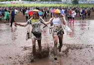 <p>Yes, our beloved Glasto comes in at number seven. We all know its a good time however we can all agree the British 'summer' weather of torrential rain and mud makes it a pretty dirty and gruelling experience.<i> [Photo: Jim Dyson/Getty Images]</i></p>