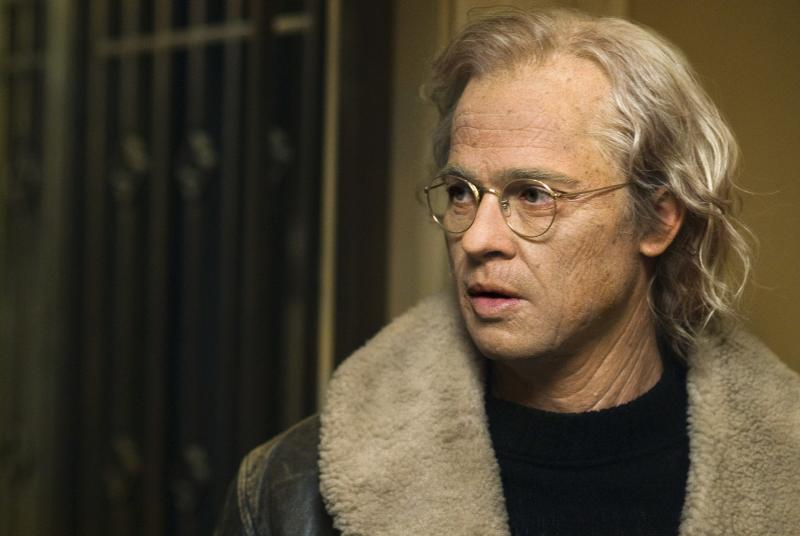 Brad Pitt in The Curious Case of Benjamin Button (Credit: AP Photo/Paramount Pictures, Merrick Morton)