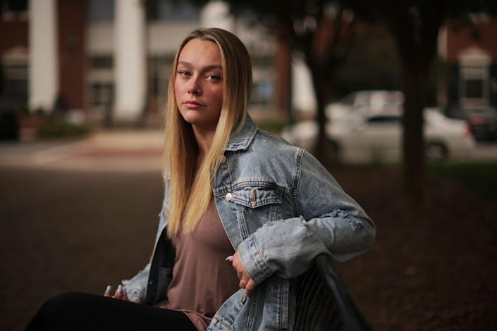 Gabriela Medford, 19, was friends with a cheerleader from Cheer Extreme during high school. While at that friend's house, Medford says she was sexually assaulted by Curtis Rucker, a Cheer Extreme coach. Gabriela went to the police, and Rucker in 2018 was charged with felony second-degree forcible sexual offense and misdemeanor sexual battery. He pleaded to a lesser charge of felony crime against nature. Gabriela's mother said that after the assault, she called Cheer Extreme's owner and told them what Rucker had done, but they dismissed her concerns because he had not yet been arrested.