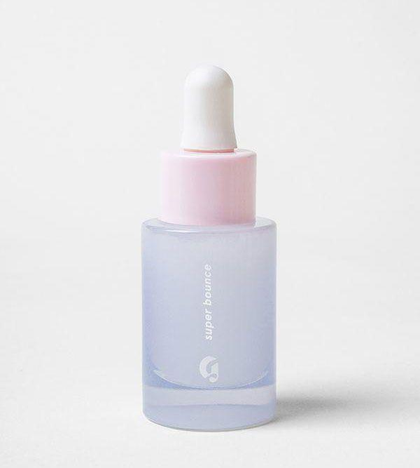 "<p>Dehydrated skin doesn't just mean dry patches, dehydrated skin also causes a a reduction in skin elasticity. Glossier's Super Bounce promises to bring that 'bounce' back and re-plump your skin with its blend of hyaluronic acid and B5. The cheaper price point means it's not as potent as Medik8, but is a good entry level into hyaluronic acids.</p><p><a rel=""nofollow"" href=""https://www.glossier.com/products/super-bounce"">Buy now</a> Glosser.com, £24</p>"