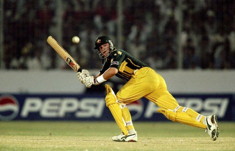 Mark Waugh was an attacking top-order batsman for Australia.