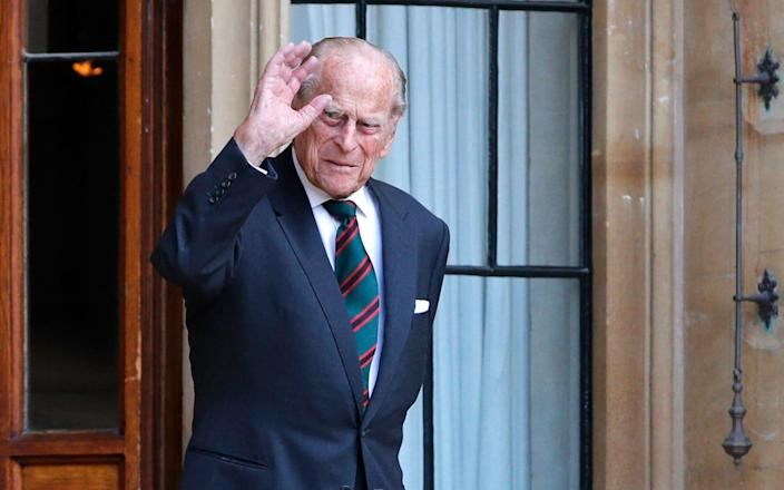 Camilla revealed that his treatment 'hurts at moments' and said his family 'keep their fingers crossed' - ADRIAN DENNIS