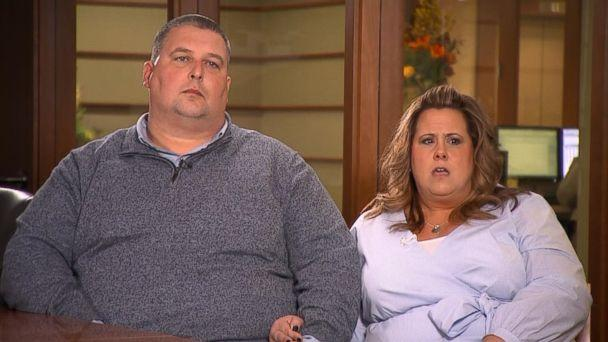 PHOTO: Marisa Cloutier-Bristol, of Massachusetts, is pictured with her husband Michael Bristol. (ABC)