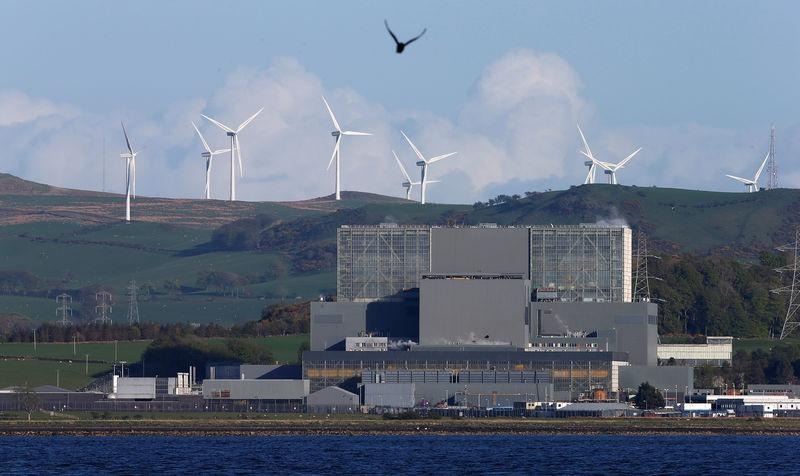 FILE PHOTO: Hunterston nuclear power station in West Kilbride, Scotland