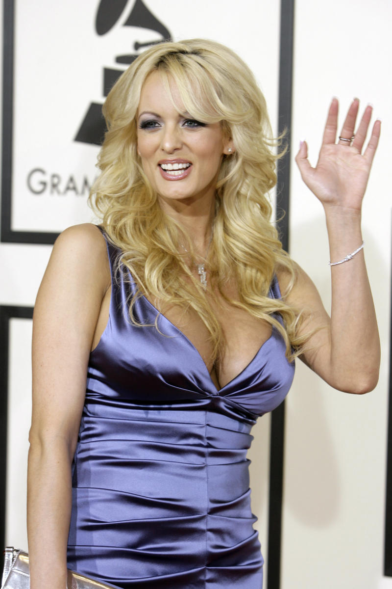 Stormy Daniels described having an affair with Trump in an interview with In Touch in 2011. (Danny Moloshok / Reuters)