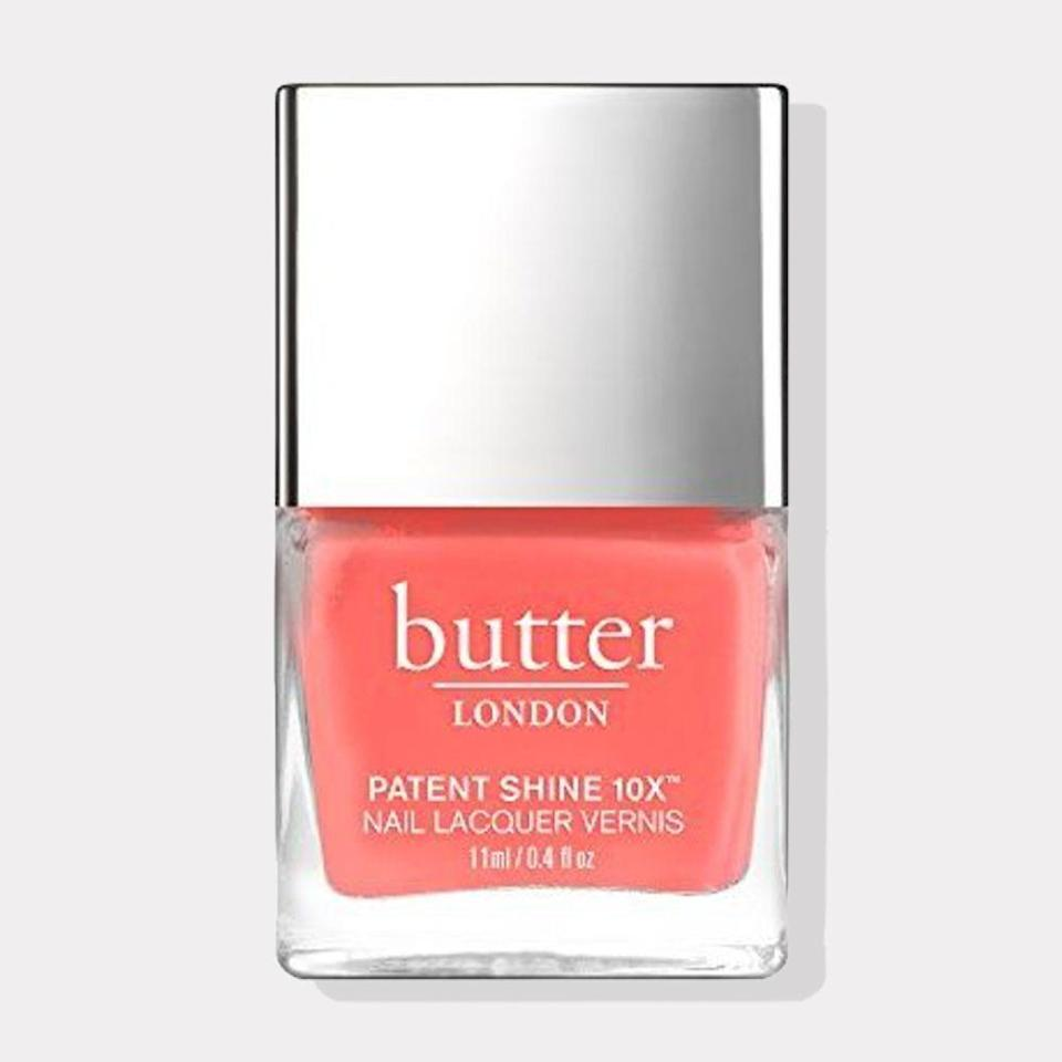 "<p><strong>butter LONDON</strong></p><p>amazon.com</p><p><strong>$18.00</strong></p><p><a href=""https://www.amazon.com/dp/B01H353FI8?tag=syn-yahoo-20&ascsubtag=%5Bartid%7C10072.g.35927219%5Bsrc%7Cyahoo-us"" rel=""nofollow noopener"" target=""_blank"" data-ylk=""slk:Shop Now"" class=""link rapid-noclick-resp"">Shop Now</a></p><p>You're on <a href=""https://www.oprahmag.com/life/a35844573/aries-season-2021-horoscope/"" rel=""nofollow noopener"" target=""_blank"" data-ylk=""slk:fire this season, Aries"" class=""link rapid-noclick-resp"">fire this season, Aries</a>. All the more reason for you to adorn your nails in a color that's as fierce as your spirit. Wearing coral nail polish this spring will make a statement, showing off your intrinsic boldness to those in your social circle—or Zoom calls.</p>"