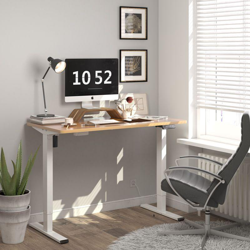 Upgrade your home office space with $80 off the Flexispot EN1 Electric Standing Desk. Image via Flexipot.