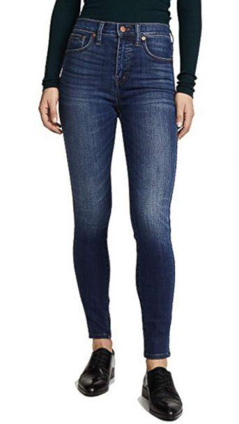 PHOTO: Madewell High Rise Skinny Jeans (Shopbop)