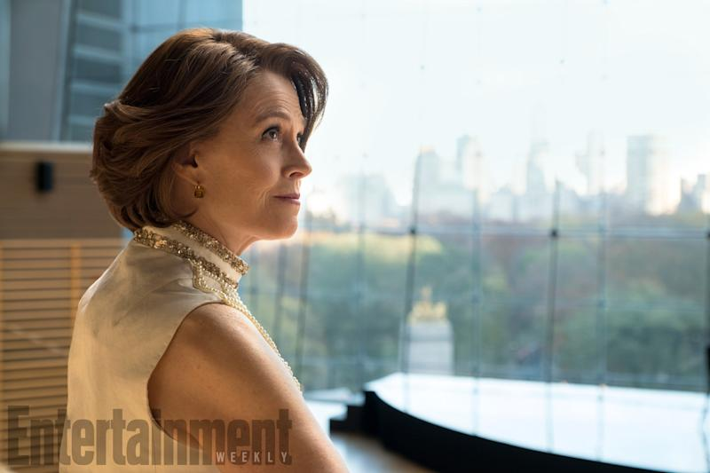 'The Defenders' first look: Meet Sigourney Weaver's villain - and learn her name