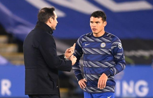 Thiago Silva joined the club during Frank Lampard's time at the club