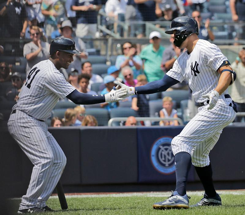 Yanks' Stanton on 10-day injured list with strained biceps