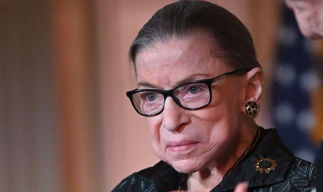 US Supreme Court judge and women's rights champion Ruth Bader Ginsburg dies