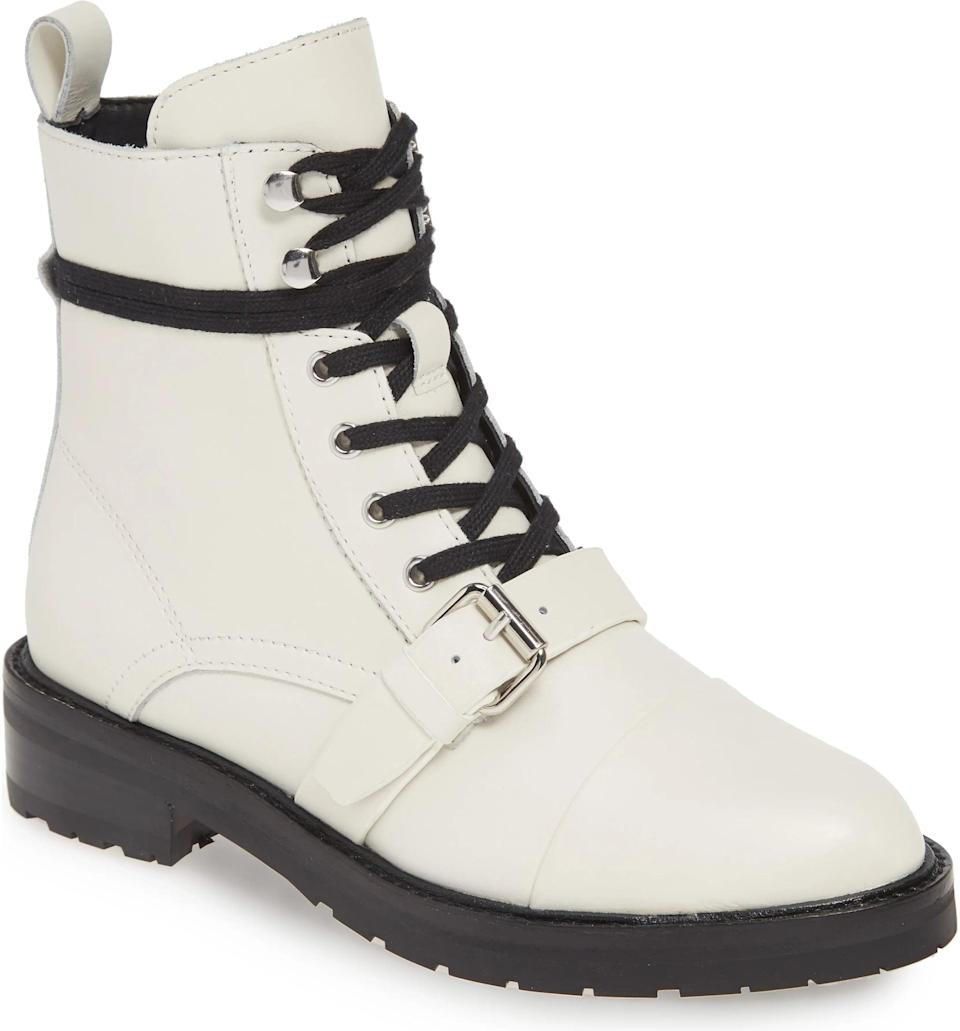 <p>These <span>Donita Combat Boots</span> ($348) come with a lot of attitude.</p>