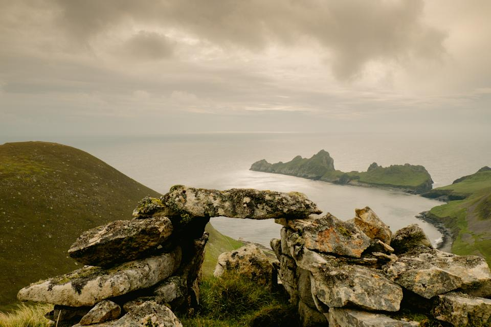Photographer Chris Orange's picture of the abandoned island of St Kilda. (SWNS)