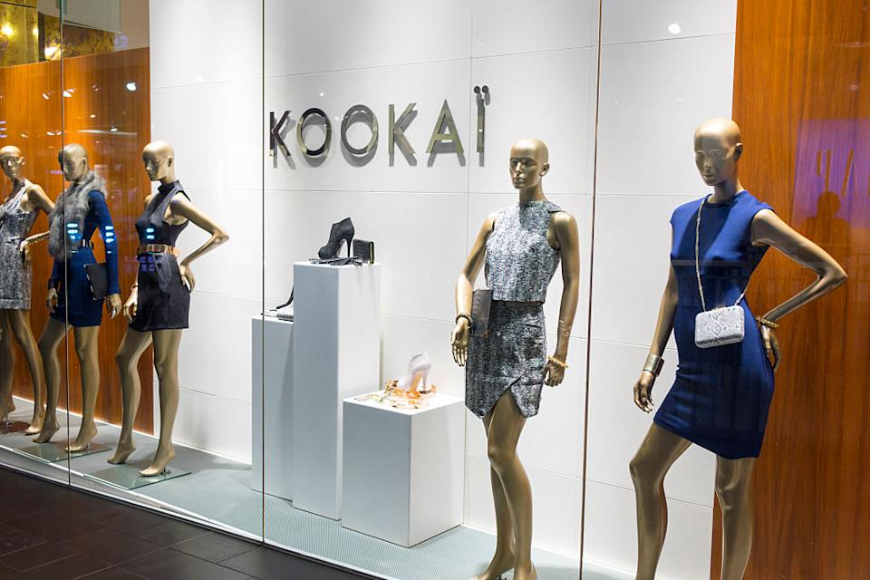 Popular brands like Kookai are included in app GoodOnYou and in Baptist World Aid's ethical fashion report. Image: Getty