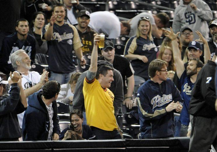 Petco Park's excellent craft beer selection should get a lot of use this year. (Getty Images/Denis Poroy)