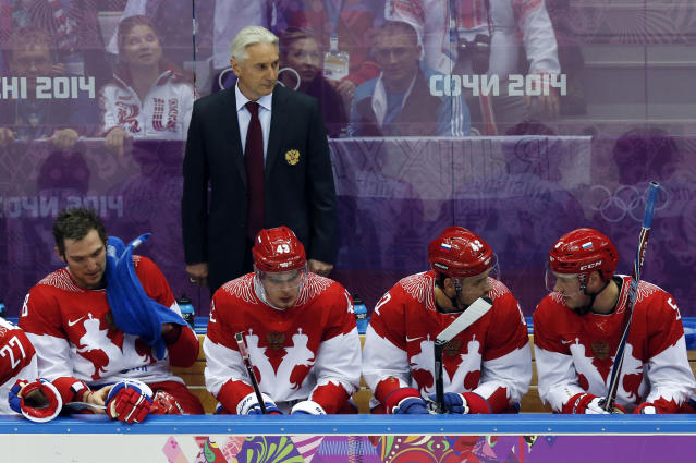 'Eat me alive right now': Russian hockey coach's postgame interview is amazing