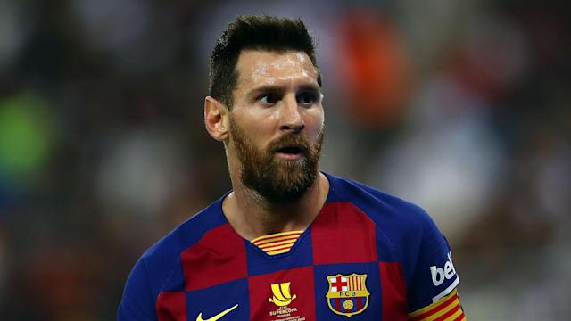 """Barcelona must stop making """"child mistakes"""", according to Lionel Messi, after Thursday's loss to Atletico Madrid in the Supercopa de Espana."""