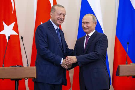 Russia and Turkey agree to create buffer zone in Syria's IdlibMore