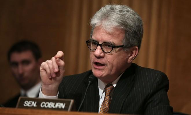 Tom Coburn is nothing if not consistent.