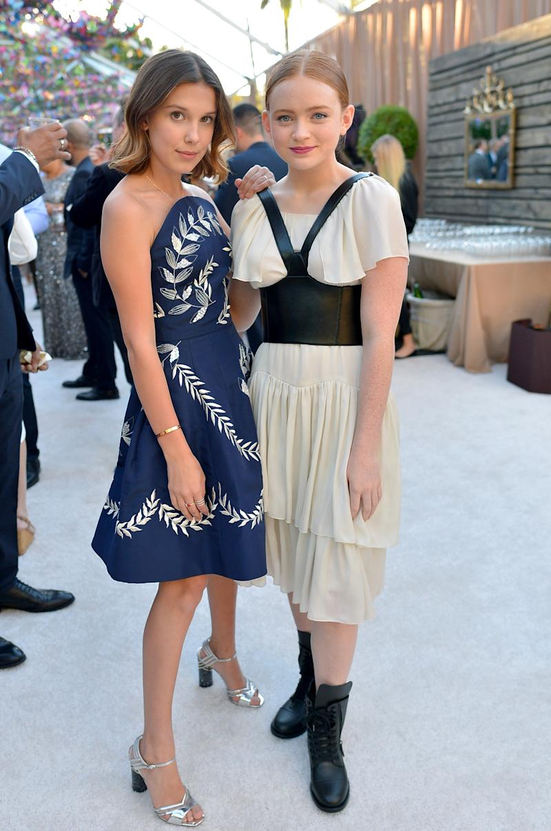 Millie Bobby Brown And Sadie Sink Were Homecoming Outfit Goals At A
