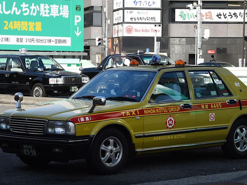 "Miyako Taxi is currently operating five ""Silence Taxis"" across the city as part of a trial: GETTY"