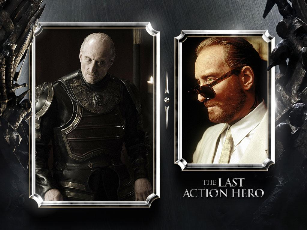 """<a href=""""/charles-dance/contributor/64697"""">Charles Dance</a> — Current Role: Tywin Lannister, Lord of Casterly Rock, Warden of the West and father to Queen Cersei. // Prior Geek Roles: An unsung veteran of genre films, Dance also played Dr. Clemens in """"<a href=""""http://movies.yahoo.com/movie/1808607935/info"""" rel=""""nofollow"""">Alien3</a>,"""" Sardo Numspa in """"<a href=""""http://movies.yahoo.com/movie/1800071425/info"""" rel=""""nofollow"""">The Golden Child</a>,"""" and the fabulously dapper and one-eyed assassin Benedict in """"<a href=""""http://movies.yahoo.com/movie/1800193490/info"""" rel=""""nofollow"""">The Last Action Hero</a>."""" He can currently be seen as the king in """"<a href=""""http://movies.yahoo.com/movie/1810096365/info"""" rel=""""nofollow"""">Your Highness</a>."""" He's the true Lord of the Dance! <a href=""""http://www.televisionwithoutpity.com/show/game_of_thrones/game_of_thrones_the_casts_geek.php?__source=tw