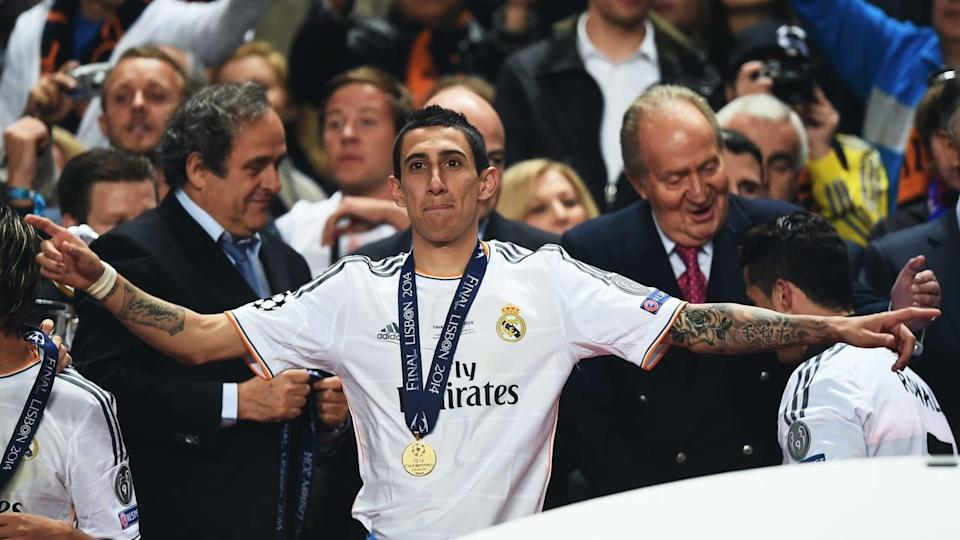 Real Madrid v Atletico de Madrid - UEFA Champions League Final - Di María disfruta. | Laurence Griffiths/Getty Images