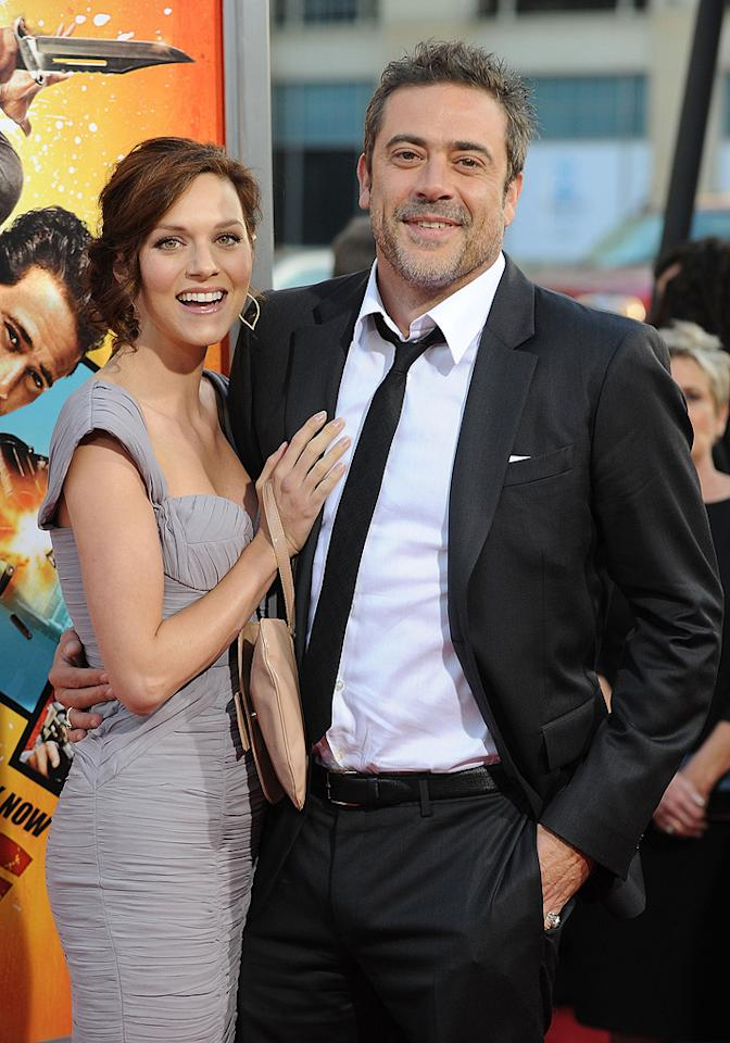 "<a href=""http://movies.yahoo.com/movie/contributor/1808944004"">Hilarie Burton</a> and <a href=""http://movies.yahoo.com/movie/contributor/1800162296"">Jeffrey Dean Morgan</a> at the Los Angeles premiere of <a href=""http://movies.yahoo.com/movie/1810096356/info"">The Losers</a> - 04/20/2010"