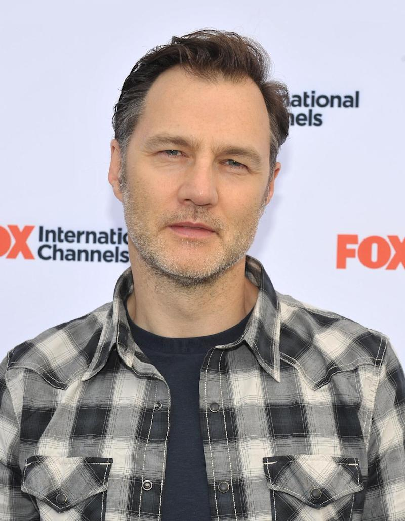 """COMMERCIAL IMAGE - David Morrissey attends AMC's """"The Walking Dead"""" Fox Breakfast on Friday July 13, 2012, in San Diego. (Photo by John Shearer/Invision for AMC/AP Images)"""