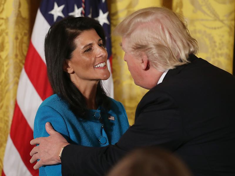 U.N. Ambassador Nikki Haley Says Russia Was 'Certainly Involved' in 2016 Election