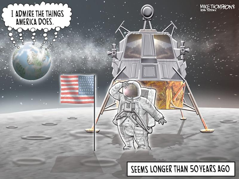 Apollo 11 anniversary: Today's Toon