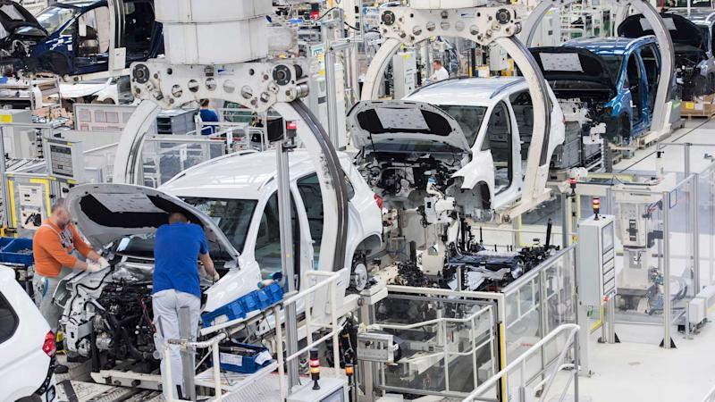 Production at VW's Wolfsburg plant