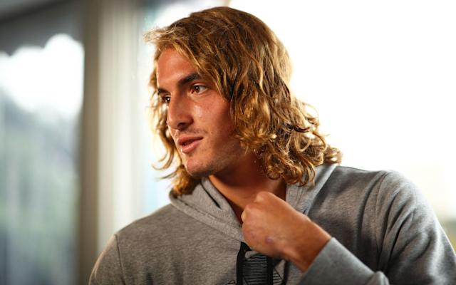 Stefanos Tsitsipas will play in doubles events for the rest of the season - Getty Images Europe