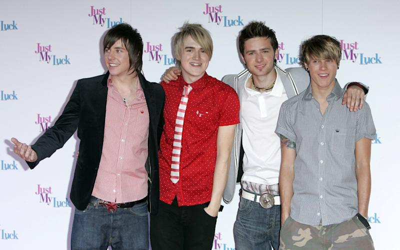 Back when McFly still looked like this, they starred opposite Lindsay Lohan and Chris Pine in 'Just My Luck', an ill-fated Disney film that hasn't exactly stood the test of time, but at least it gave Harry Judd an extra notch on the ol' bedpost...