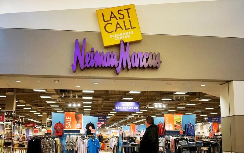 FILE PHOTO - A customer walks by the Neiman Marcus Last Call store in Golden