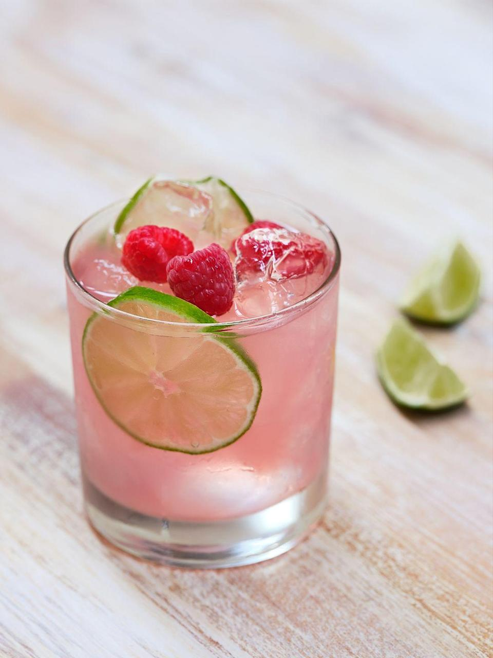 "<p><strong>Ingredients:</strong></p><p>2 oz. Kleos Mastiha (Greek liqueur)</p><p>1.5 oz. cointreau</p><p>1 oz. fresh squeezed lime juice</p><p>1 oz. club soda </p><p><strong>Directions:</strong></p><p>Combine ingredients and top with club soda. Garnish your beverage with raspberries and lime slices. </p><p><em>Courtesy of Arielle Natale, Bar Manager, <a href=""https://urldefense.com/v3/__https://www.elaiaestiatorio.com/__;!!Ivohdkk!zI3FkGGxYtBi5bzVc-FFRF-xdja0hDlQrFS6I1dP0aOnewGUO_JyFJ99mVqsBw$"" rel=""nofollow noopener"" target=""_blank"" data-ylk=""slk:Elaia Estiatorio"" class=""link rapid-noclick-resp"">Elaia Estiatorio</a>, Bridgehampton</em></p>"