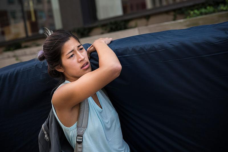 """Columbia University has settled with the male student accused in the """"mattress girl"""" rape case"""
