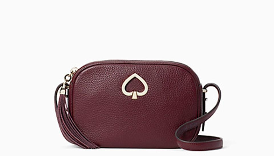 This effortless bag is available in a range of fun colors.