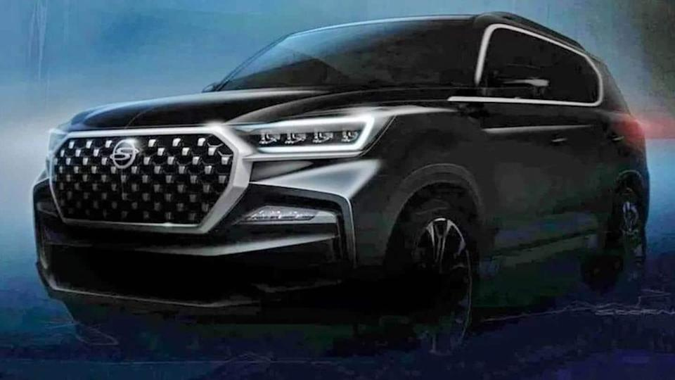 SsangYong Rexton G4 (facelift) to be unveiled on November 2