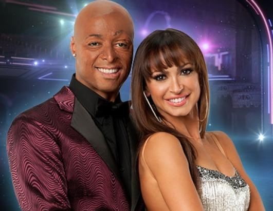 J.R. Martinez, veteran and actor, teams up with Karina Smirnoff, who returns for her ninth season