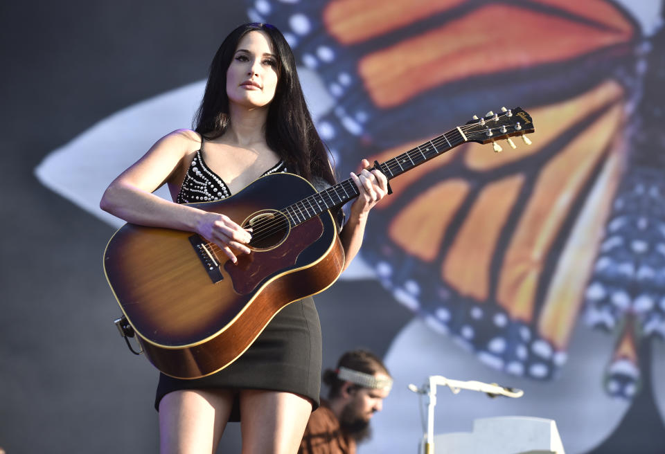 CHICAGO, ILLINOIS - AUGUST 04: Kacey Musgraves performs during 2019 Lollapalooza at Grant Park on August 04, 2019 in Chicago, Illinois. (Photo by Tim Mosenfelder/Getty Images)