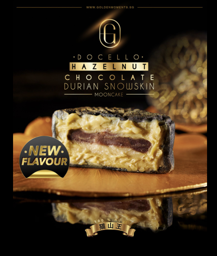 Premium Snowskin Mooncakes from Golden Moments The Durian Artisan in Singapore. PHOTO: Golden Moments