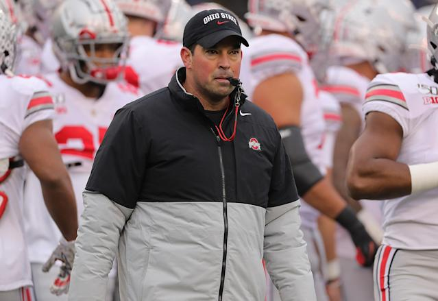 Ryan Day and No. 1 Ohio State look for a victory over No. 13 Michigan. (Getty Images)